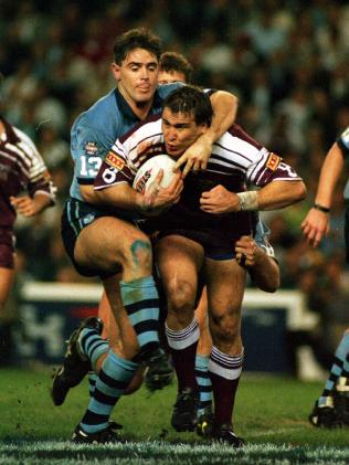 Gavin Allen during a State of Origin match in 1995.