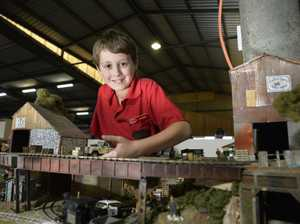 ALL ABOARD: Enthusiasts ride rails at model train expo