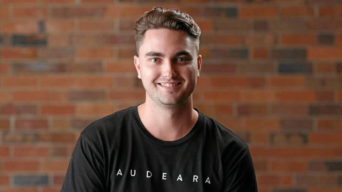 TECH: Audeara co-founder Alex Afflick was encouraged to become an engineer by his Bundaberg high school teacher.