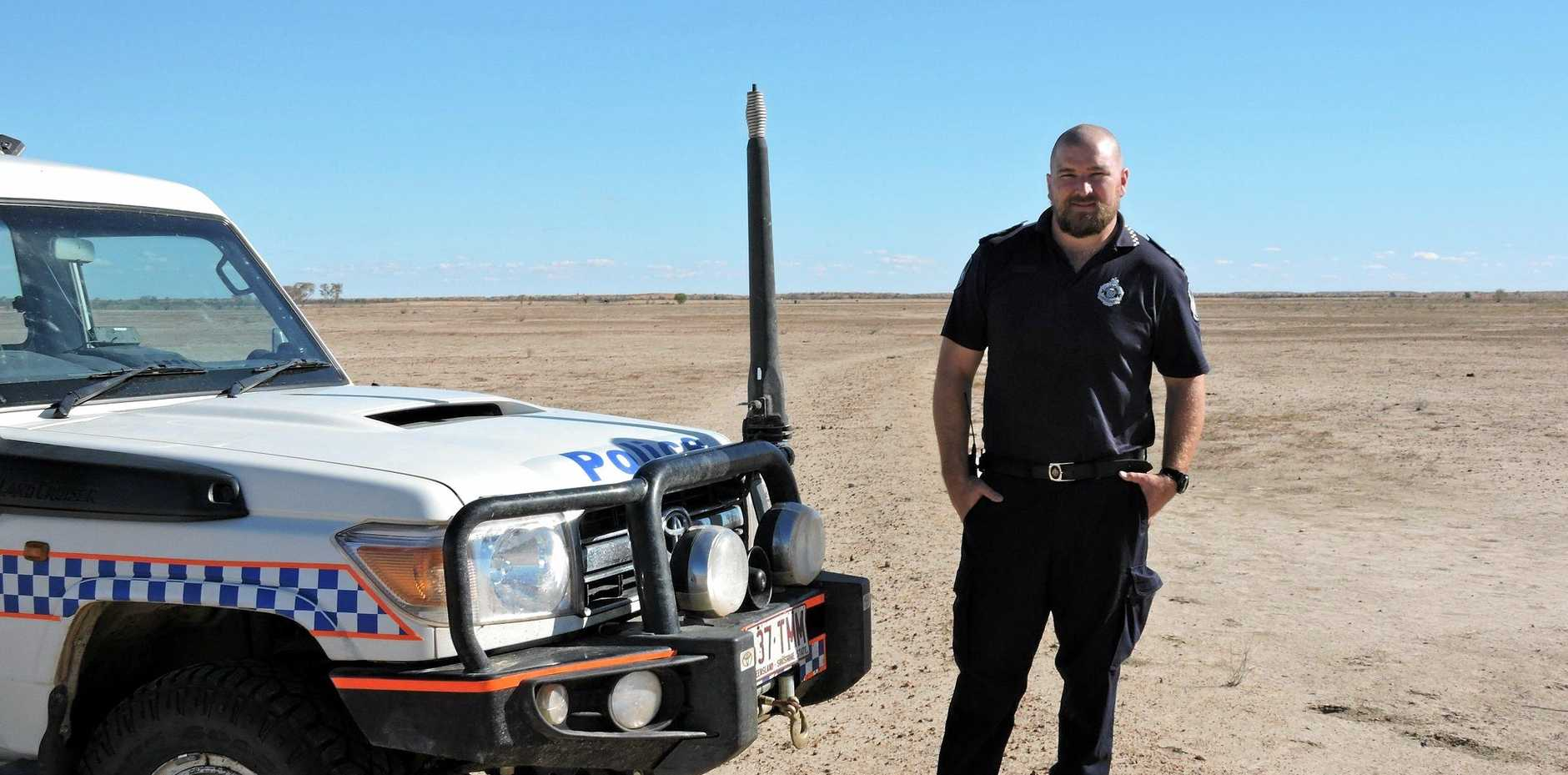 RECOGNITION:   Senior Constable Paul Jackson has won and been nominated for a QBANK Everyday Heroes Award, for those  who go above and beyond.