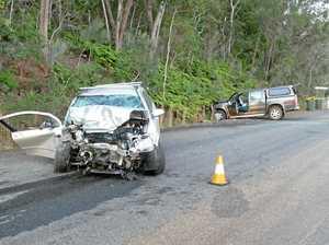 Three injured in head-on collision