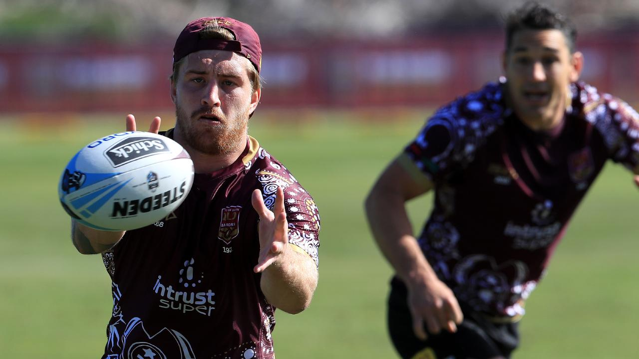 Cameron Munster shapes as Queensland's game-breaker. Pics Adam Head