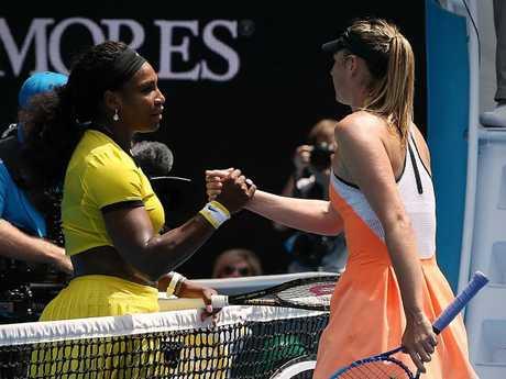 Williams owns a dominant record over Sharapova.