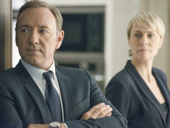 Robin Wright comes out from Kevin Spacey's shadow in the sixth and final season of House of Cards. Picture: Nathaniel Bell/Netflix