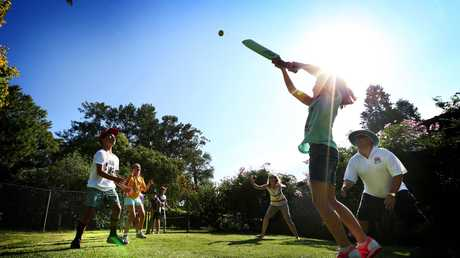The dream of backyard cricket could now only be available to those who are willing to pay to dollar. Picture: Richard Dobson