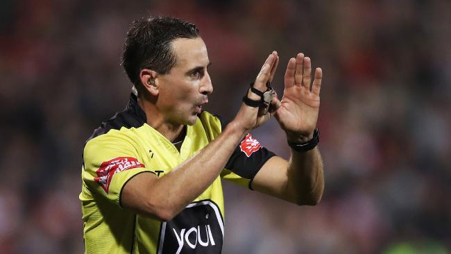 Gerard Sutton will referee the State of Origin series opener. Picture: Phil Hillyard