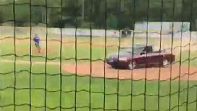Carol Sharrow drove her car onto a baseball field killing Douglas Parkhurst. Picture: Makena Murphy