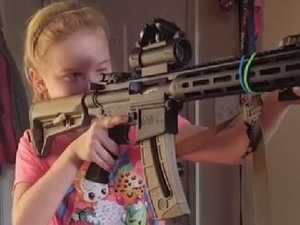 Nine-year-old girl the NRA's next play in gun fight