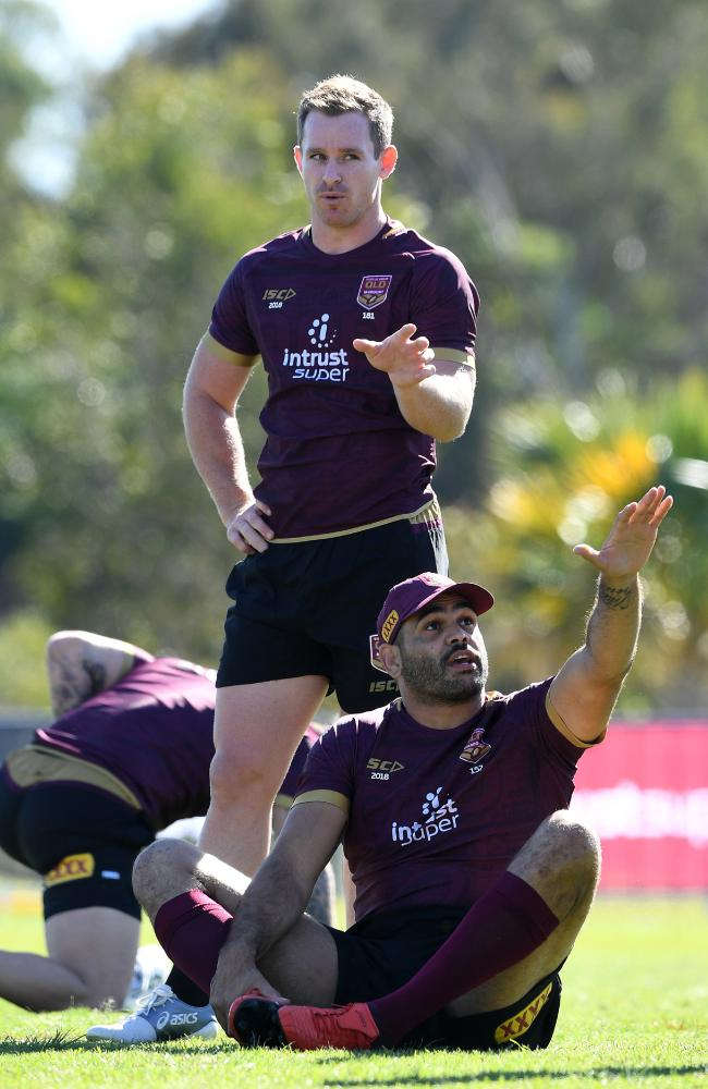 Morgan will again play off the bench for the Maroons.