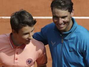 Touching Nadal gesture is pure class