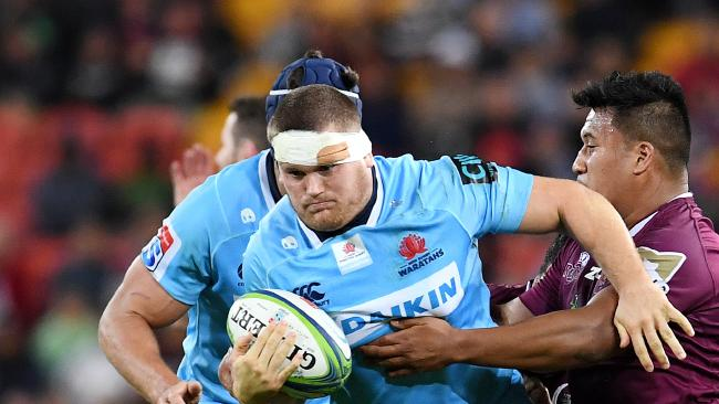 The Waratahs v Rebels clash in a month could decide the Australian conference.