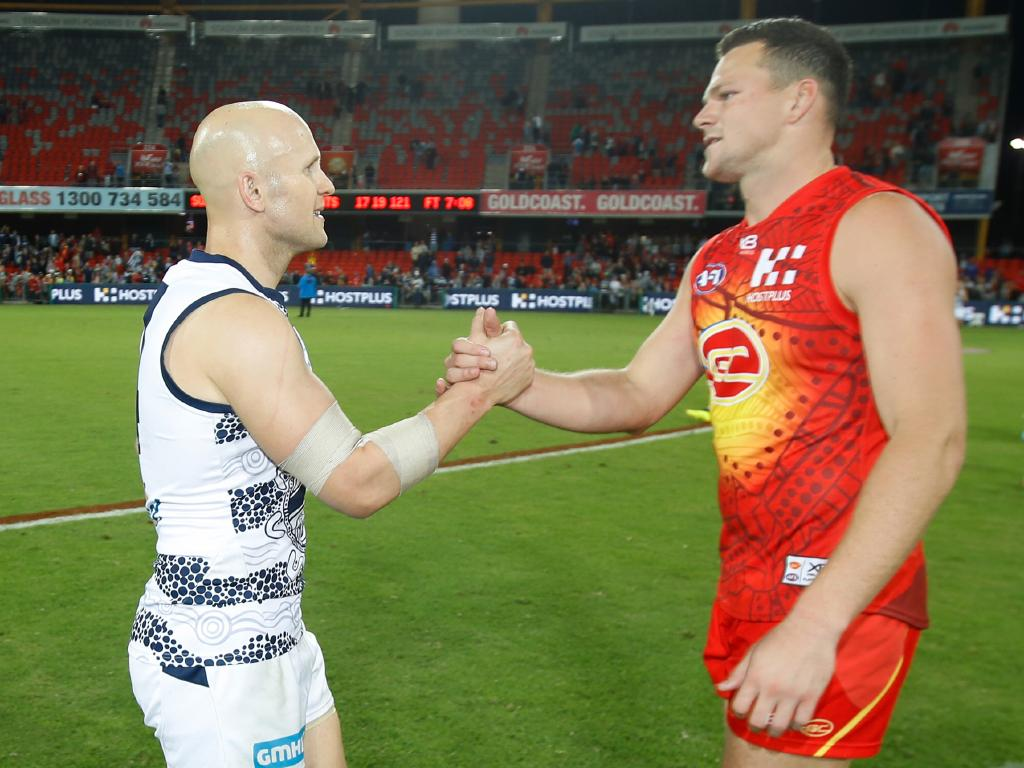 Steven May may follow Gary Ablett out the door. Picture: Michael Willson, Getty Images.