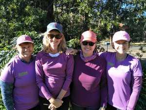 Women take on trek for charity