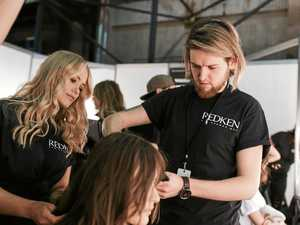 Toowoomba hair stylist goes backstage at Fashion Week