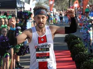 Marathon man's massive mission