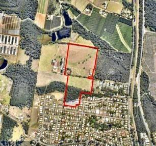 Blocks of rural zoned land on Newells Road at Beerwah are proposed to be changed for increased residential use.