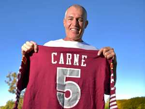Origin flashback: 'Ridiculous, scary' debut for Carne