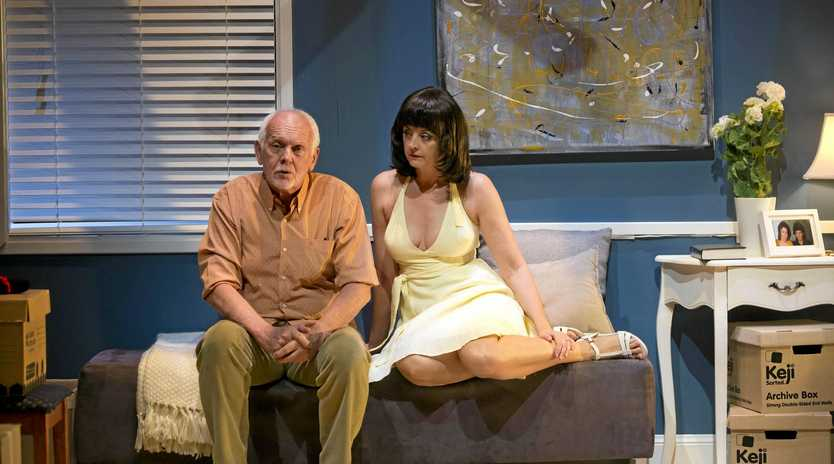 IN HER WORDS: Jeanette Cronin as Lindy in the play Letters to Lindy.