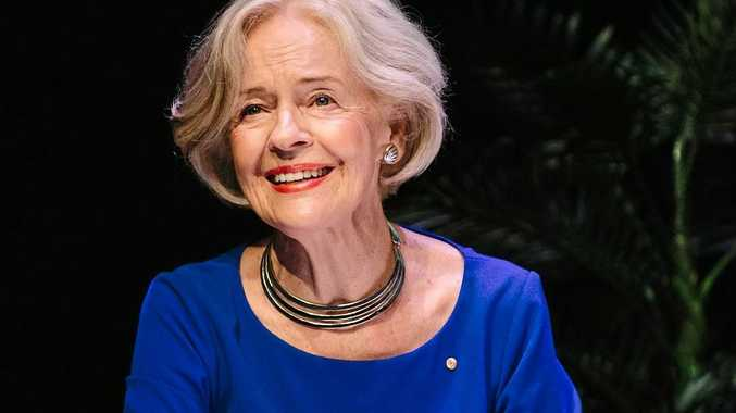 DO SOMETHING: Former Governor General of Australia Dame Quentin Bryce says domestic violence is everyone's business.