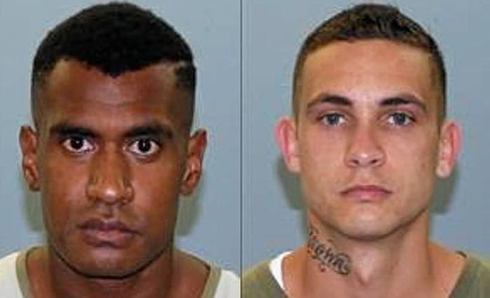 Two prisoners have been identified.