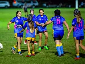Tensions high in U14s girls league game at Albert Park