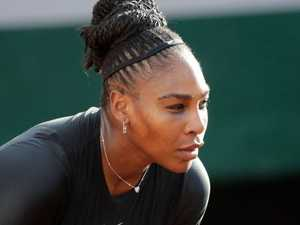 Shattered Serena in a world of pain
