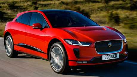 The I-Pace has neck-snapping acceleration. Picture: Supplied.
