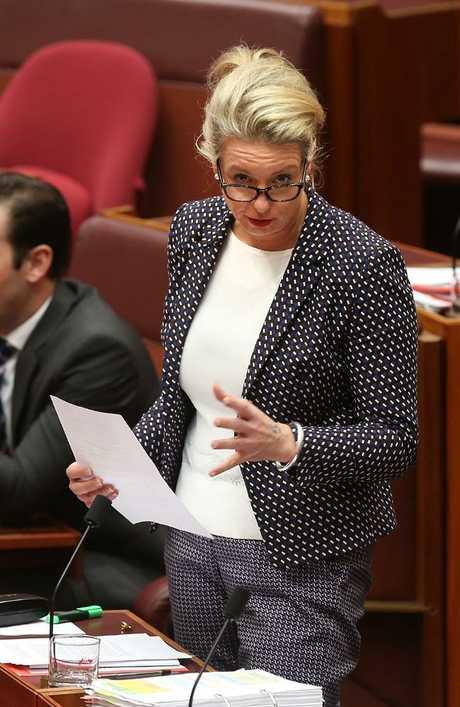 Minister for Sport Senator Bridget McKenzie. Picture: Kym Smith