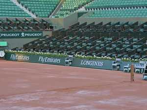 French Open staff's giant balls up