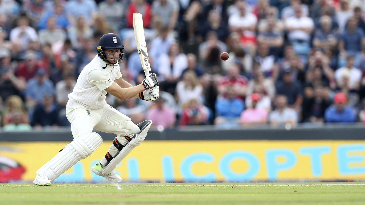 England's Jos Buttler during the second Test match between England and Pakistan at Headingley.