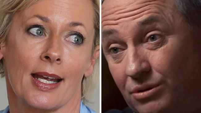 Amanda Keller rips into Barnaby Joyce over Sunday Night interview.