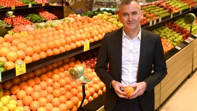 Woolworths CEO Brad Banducci. Picture: Paul Miller/AAP
