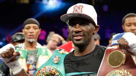 "Terence Crawford says Jeff HJorn ""can beat anybody on any given day"". Picture: Steve Marcus/Getty"