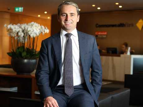 Matt Comyn became the new CEO of the Commonwealth Bank this year. Picture: James Croucher