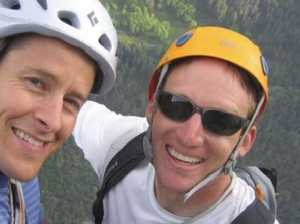 Rock-climbing friends plummet to their deaths