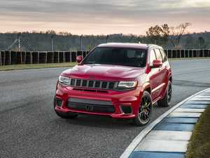 Jeep supercharges SUV with tarmac-tearing Trackhawk