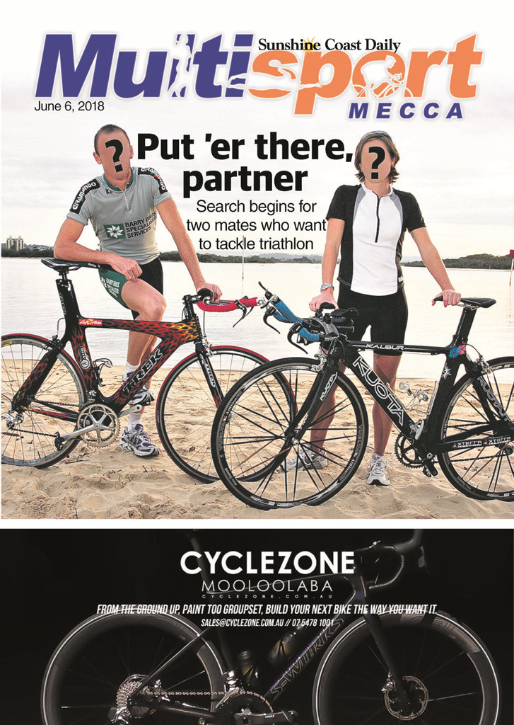 The June 6 edition of Sunshine Coast Multisport Mecca.
