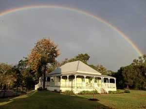 Couple turn decrepit farmhouse into dream home