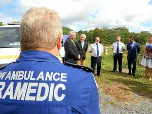Paramedics make peace deal