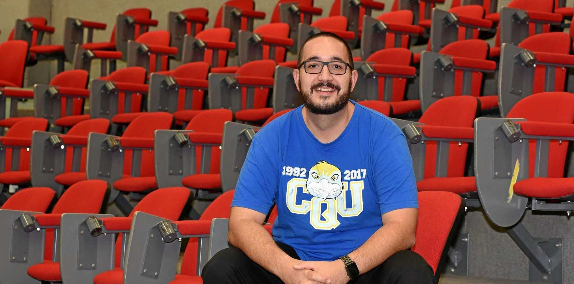 Luke Sondergeld was nominated by the staff at CQUniversity for the Vocational Student of the Year award who taught him during his Diploma of Nursing