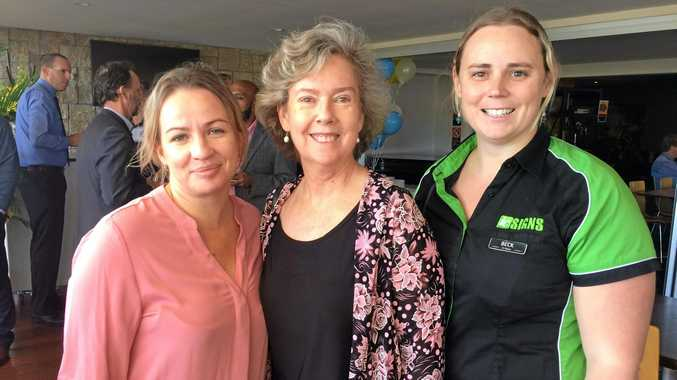Rhi Brimsmead, Helen Stubbin and Bec Day at the Business Excellence Awards Tweed Shire (BEATS) sponsors launch at Seagulls Club.