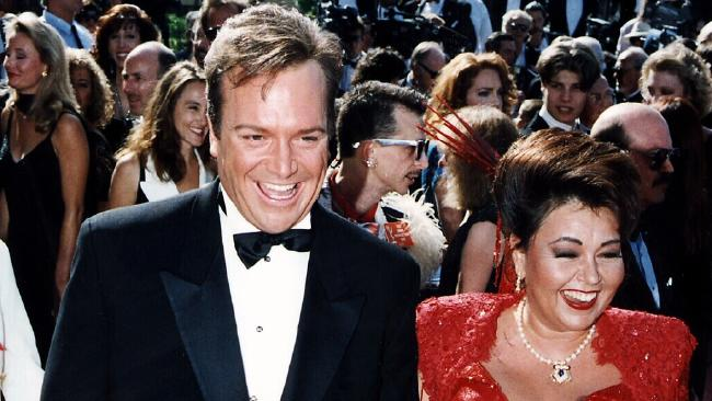 Arnold and Barr were married in the early '90s.