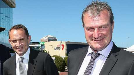 Chris Waller has secured the Darren Weir-trained Brave Smash for his slot in The Everest. Picture: Ian Currie