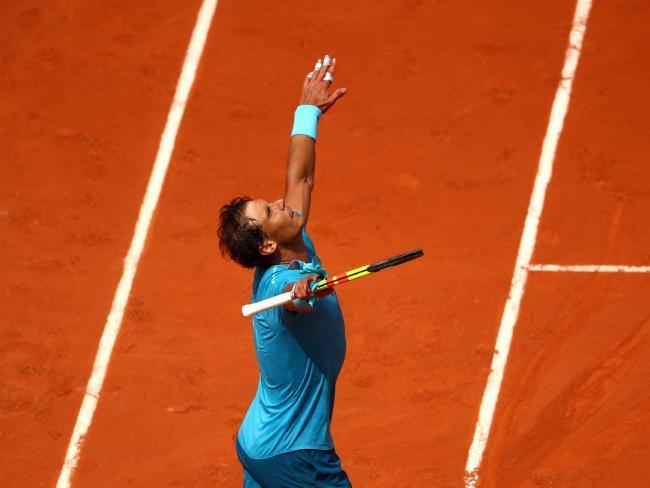 Rafael Nadal sent an ominous warning to rivals.