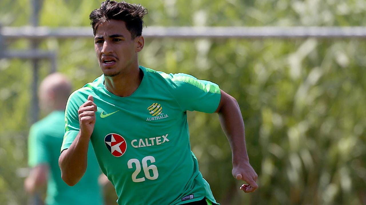 Daniel Arzani has the honour being the youngest player in Russia.
