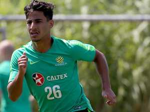 Socceroos win age-old battle of young guns