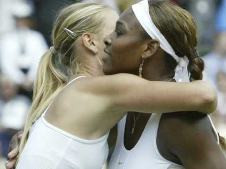Serena Williams was due to face longtime foe Maria Sharapova.