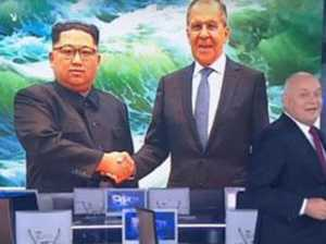 Russian TV Photoshops smile onto Kim Jong-un