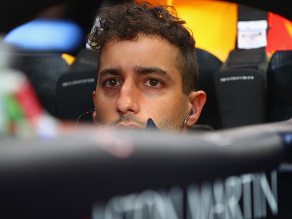 Daniel Ricciardo wasn't on a high for long. (Photo by Mark Thompson/Getty Images)