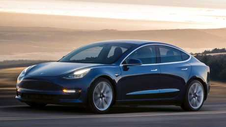 Critics have slammed Australia's approach to electric cars. Courtesy of Tesla via AP